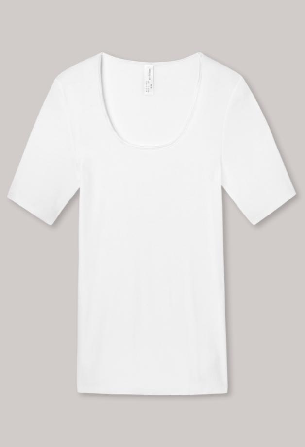 Schiesser Luxury t-shirt korte mouw