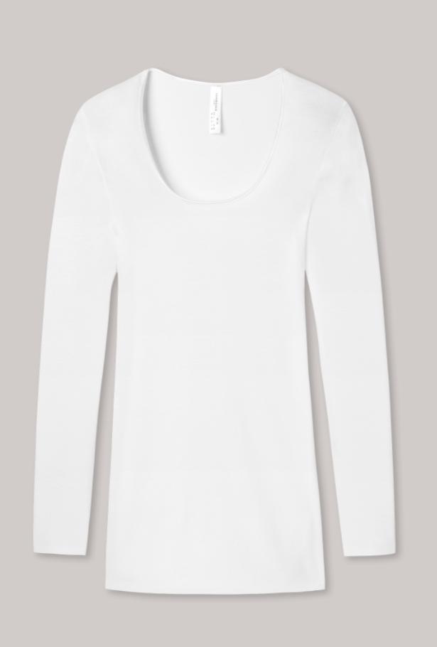Schiesser Luxury t-shirt lange mouw