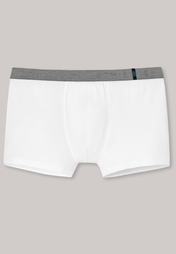 Schiesser 95/5 short kort in wit en zwart