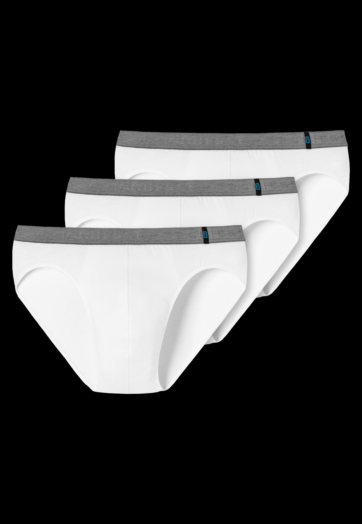 Schiesser 95/5 3-pack Rio-slip, wit