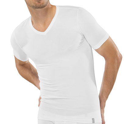 Schiesser 95/5 t-shirt v-hals