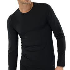 Schiesser 95/5 t-shirt lange mouw, ronde hals
