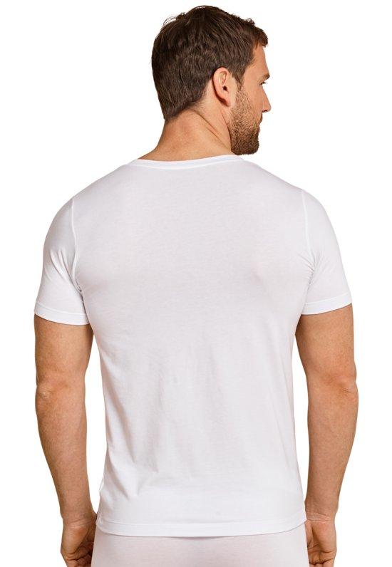 Schiesser Long Life Soft - t-shirt v-hals wit
